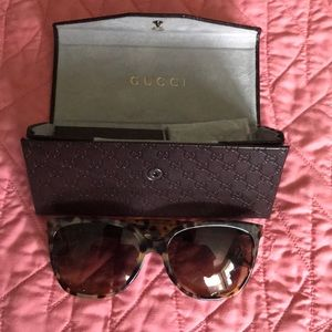 Gently used authentic Gucci sunglasses